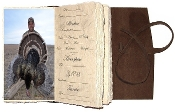 Lodge Turkey Hunting journal with plastic sleeves