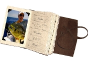 Lodge Saltwater journal w/ photo tabs
