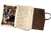 Lodge Hunting journal w/ photo tabs