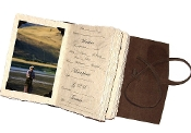 Lodge Fly fishing journal w/ photo tabs