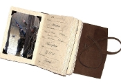 Lodge Waterfowl journal w/ photo tabs
